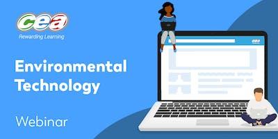 CCEA GCE Environmental Technology Subject Support Webinar