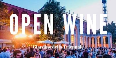 CFM / Open Wine nel Giardino della Triennale con djset