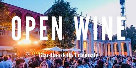 CFM / Open Wine nel Giardino della Triennale con djset biglietti