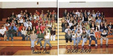 Class of 2009 Ten-Year Reunion tickets