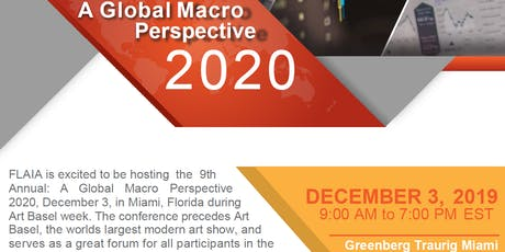 A Global Macro Perspective 2020 tickets