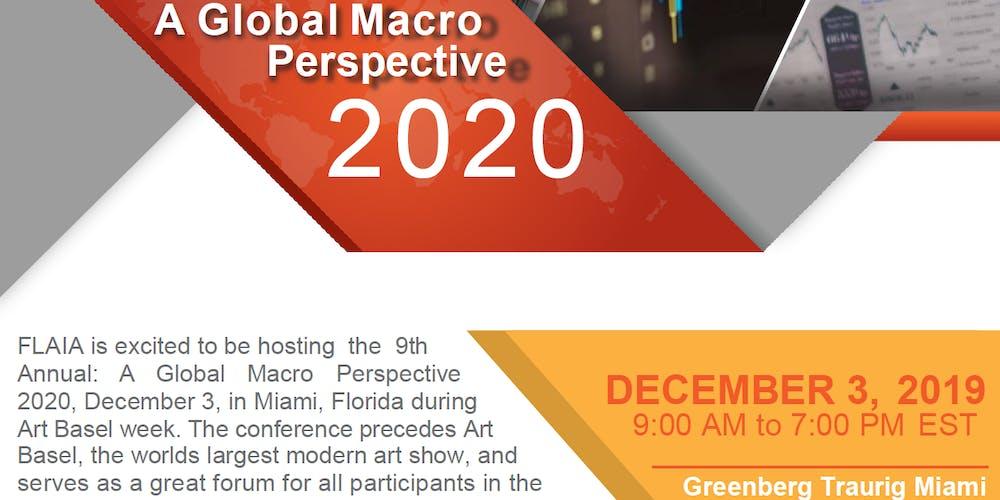 Miami Calendar Of Events December 2020 A Global Macro Perspective 2020 Tickets, Tue, Dec 3, 2019 at 9:00