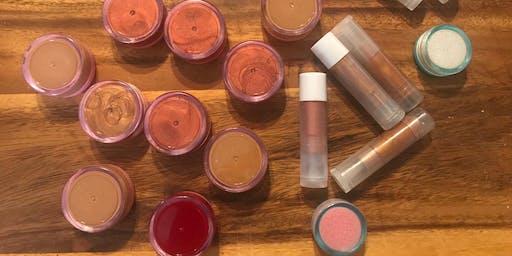 Lip Balm/Lip Tint/Cheek Tint (Make & Take)
