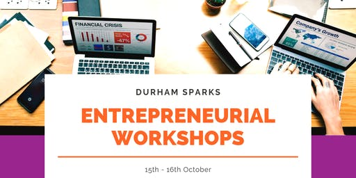 SPARKS Entrepreneurial	Workshops - October