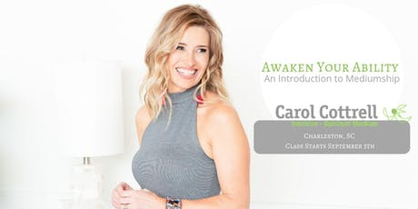 Awaken Your Ability. An Introduction to Mediumship. Fall 2019 tickets