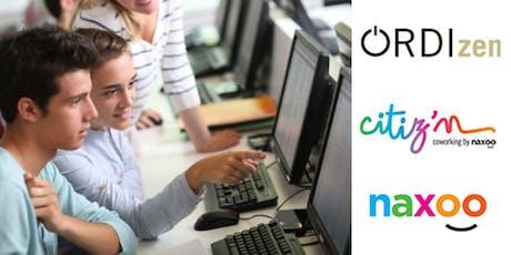 Cours découverte coding ados 13-18 ans débutants billets