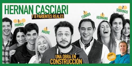 «Una obra en construcción», de H. Casciari ✦ DOM 8 SEPT, CC Konex (CABA)