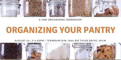 You Got This: Organizing Your Pantry tickets