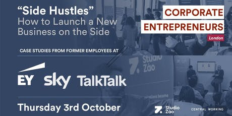 Side Hustles: How To Launch A Business On The Side tickets