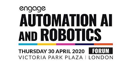 2020 Automation, AI & Robotics Forum tickets