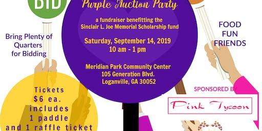 Quarters 4 Love - Purple Auction Party
