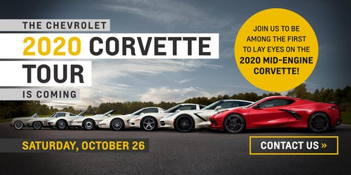 2020 Corvette Tour at Classic Chevrolet