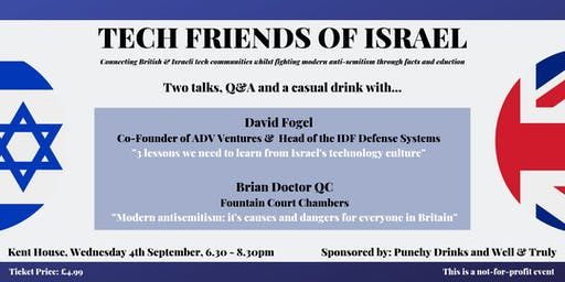 Tech Friends of Israel - Westminster Edition #1