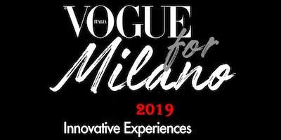 VOGUE FOR MILANO 2019 - TUTTI GLI EVENTI
