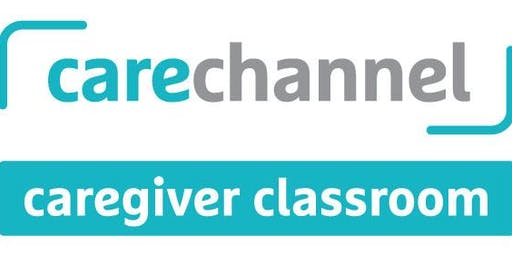 Carechannel's FREE Caregiver Classroom Workshop - North Bay