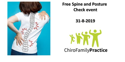 Free spine and posture checks