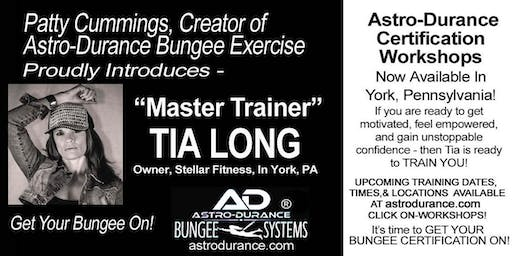 ASTRO-DURANCE 1-Day Master Trainer Bungee Workshop, Pennsylvania, Sept 7