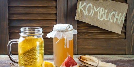 Kombucha and Fermented Drinks Workshop Stafford
