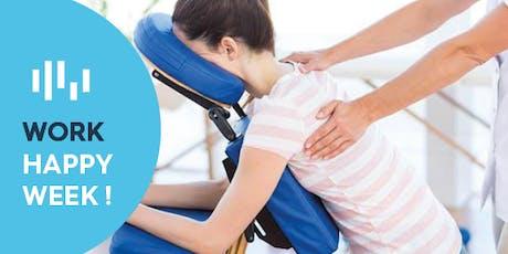 Séance de massage assis - Wavre billets