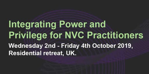 Integrating a consciousness of systemic power and privilege into NVC