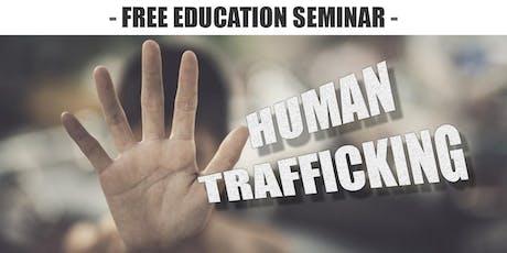 Education Seminar on Human Trafficking tickets