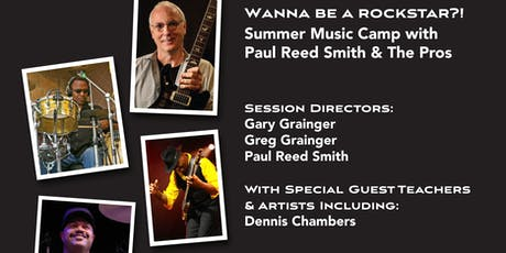 Master Class Showcase Jam with The Paul Reed Smith Band tickets