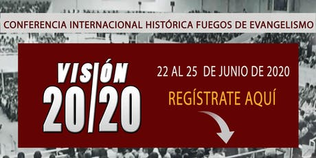 Visión 2020 tickets
