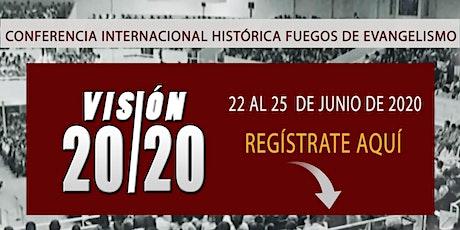 Conferencia Fuegos de Evangelismo 2021 tickets