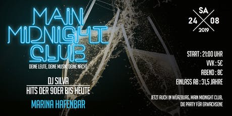 Main Midnight Club Vol. 8 (Ü 31,5) Tickets