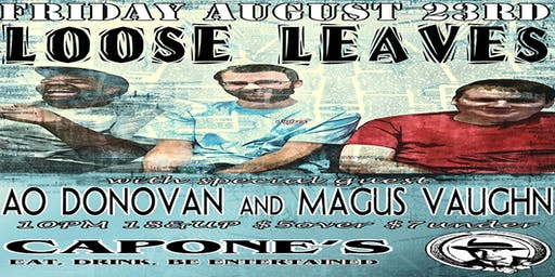 Loose Leaves, with AO Donovan, and Magus Vaughn
