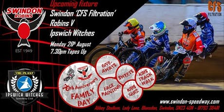Swindon Robins V Ipswich Witches tickets