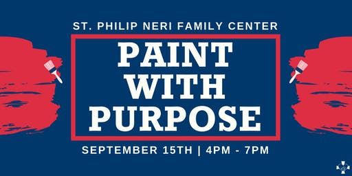 Paint With Purpose - St. Philip Neri Family Center