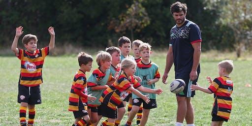 Harlequins Foundation Rugby Camp at Old Reigatian RFC