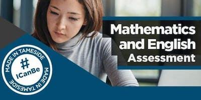 GCSE maths / GCSE English - Assessments (for starting September 2020)