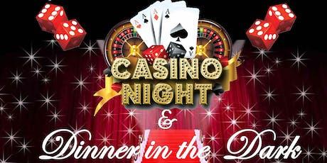 Casino Night & Dinner in the Dark tickets
