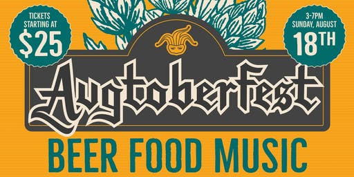 Foolproof Brewing's Augtoberfest 2019 featuring The Kickin Brass Band (21+)