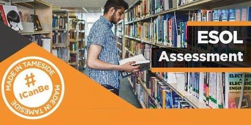 ESOL - Assessments (for starting September 2020)