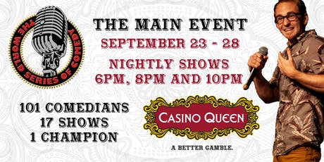 The World Series of Comedy - The Main Event tickets