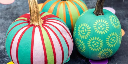 Pumpkin Painting Workshop for Kids