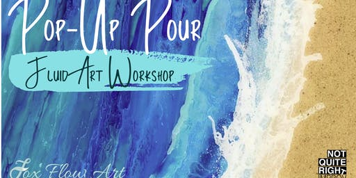 Pop-Up Pour - Fluid Art Workshop with Erin Fox