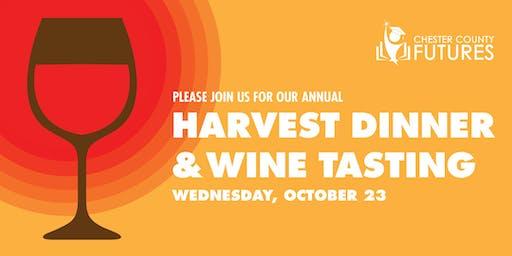 Chester County Futures' Harvest Dinner & Wine Tasting