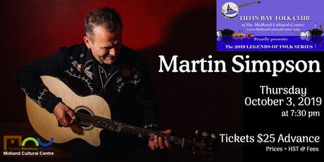 Legends of Folk: Martin Simpson tickets