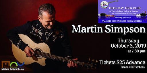 Legends of Folk: Martin Simpson