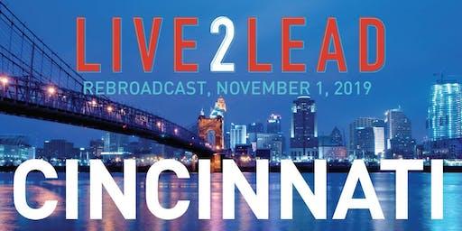 LIVE2LEAD: Cincinnati