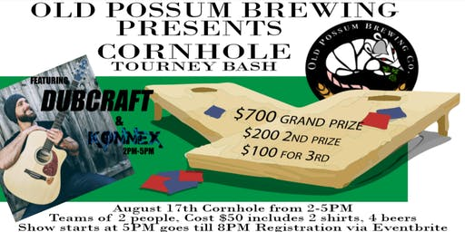 Cornhole Tournament & Reggae