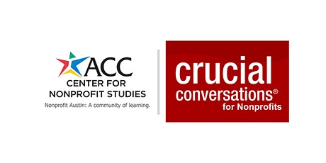 Crucial Conversations for Nonprofits tickets