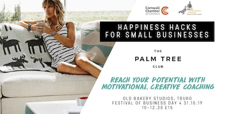 Happiness Hacks for Small Businesses tickets