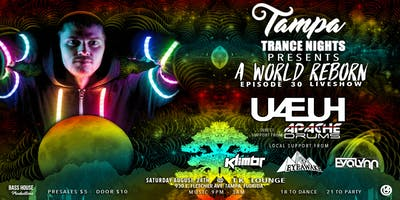 "8-24 Tampa Trance Nights Presents: U4EUH - ""A World Reborn"" Liveshow"
