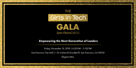 The Girls in Tech Gala tickets
