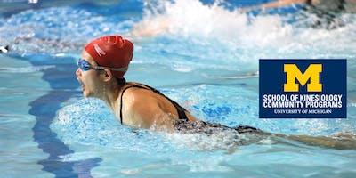 Intermediate Swim - PE142 001 Fall 2019, T/Th